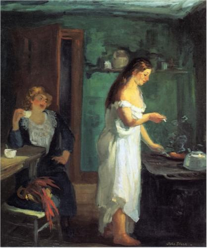 Three A.M. - John French Sloan