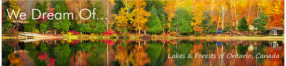 We Dream of... Lakes and Forests of Ontario, Canada
